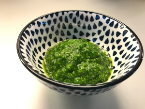Pesto of Ramson (or Wild Garlic)