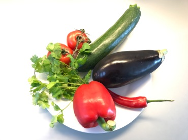 ingredients for ratatouille