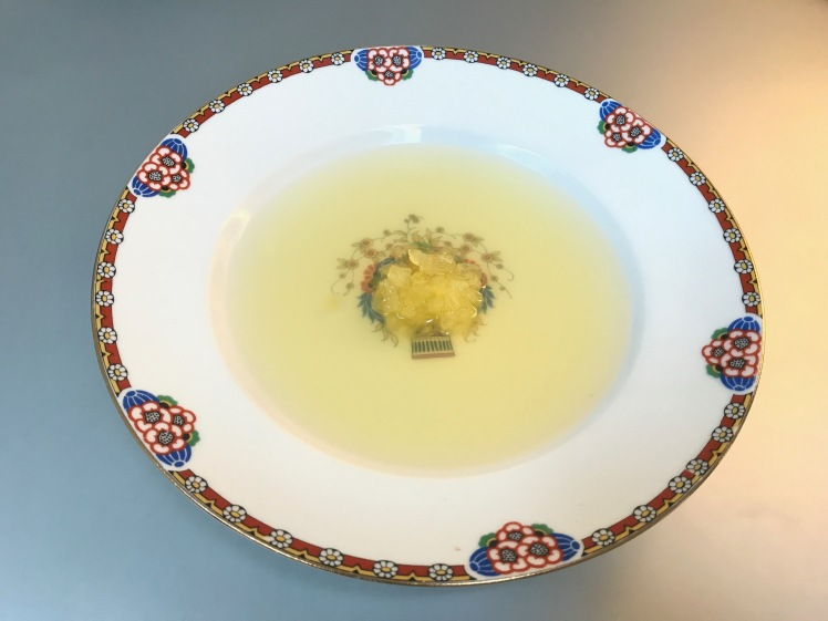 Consommé of Yellow Tomatoes © cadwu