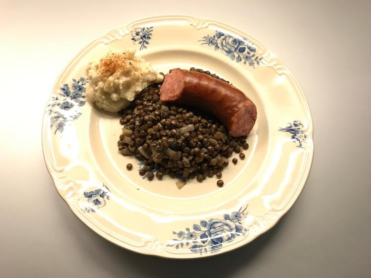 Lentilles with Sausage © cadwu