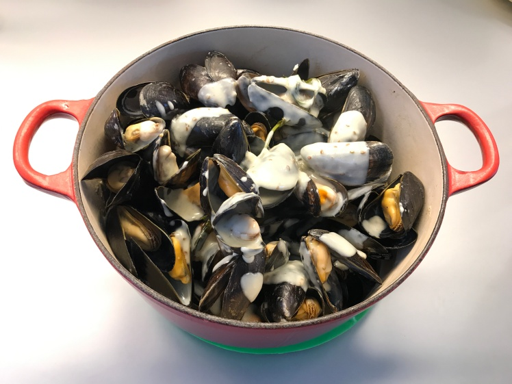 Mussels with Anise Seed © cadwu