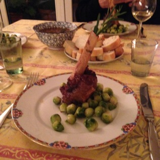 Lamb Shank with Rosemary © cadwu