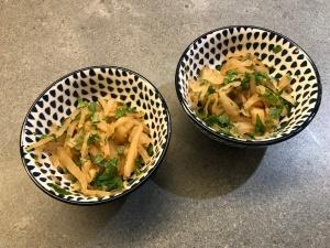 Kimchi a la Choucroute with Cilantro © cadwu