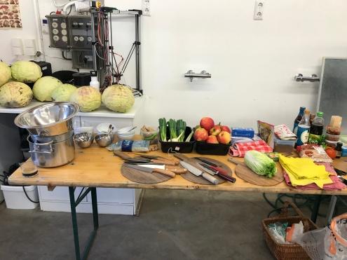 Kimchi Workshop at Mediamatic © cadwu