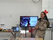 Marrit Kuyng Ok Schakel presenting © cadwu