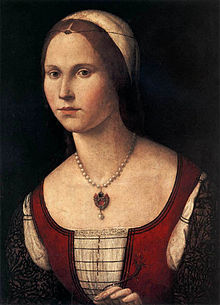 Woman in Red by Vittore Carpaccio