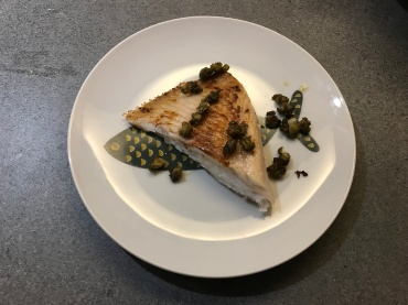 Fried Skate with Capers © cadwu