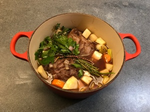 Veal Cheeks Ready to Simmer © cadwu