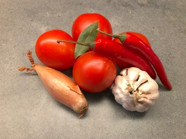 Vegetables for Spicy Tomato Sauce © cadwu