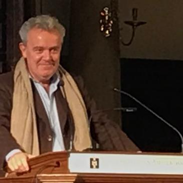 Alain Passard speeches after having received the Johannes van Dam Prize 2019 © cadwu