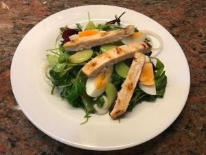 Salad with Various Beans and Swordfish © cadwu