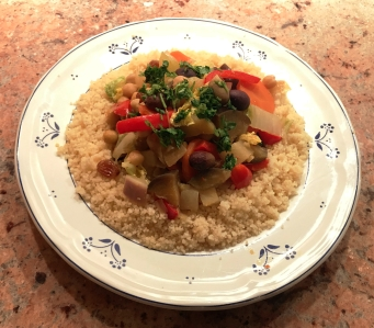 Couscous with Vegetables © cadwu