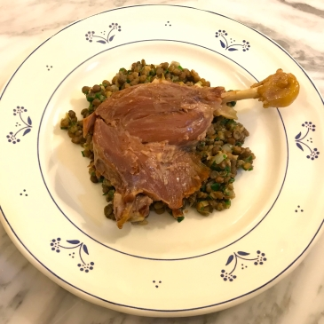 Lentils with Confit of Duck © cadwu