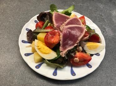 Salade Nicoise Escoffier style © cadwu
