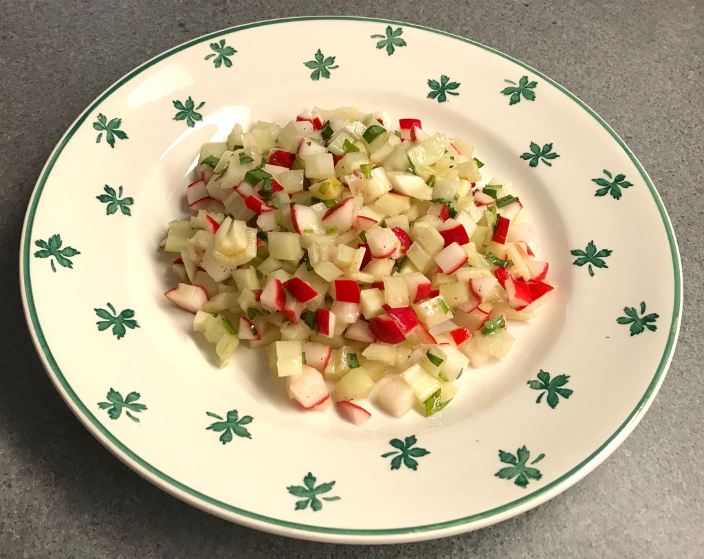 Fennel, Radish and Tarragon Salad © cadwu