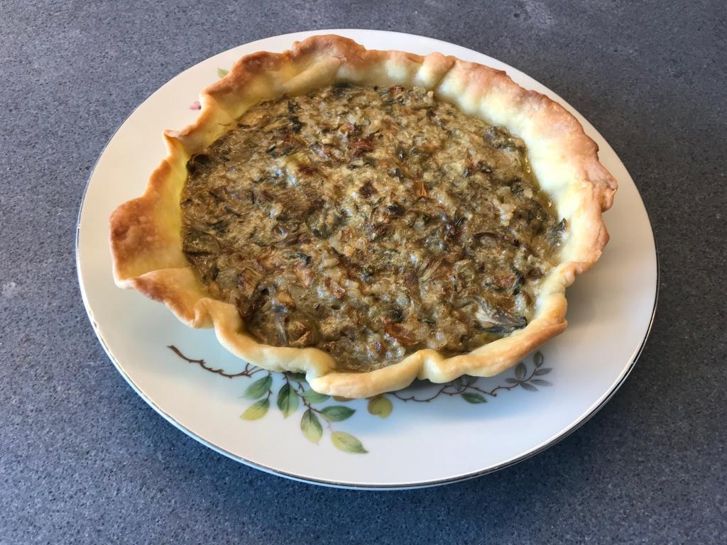 Artichoke Pie ©cadwu
