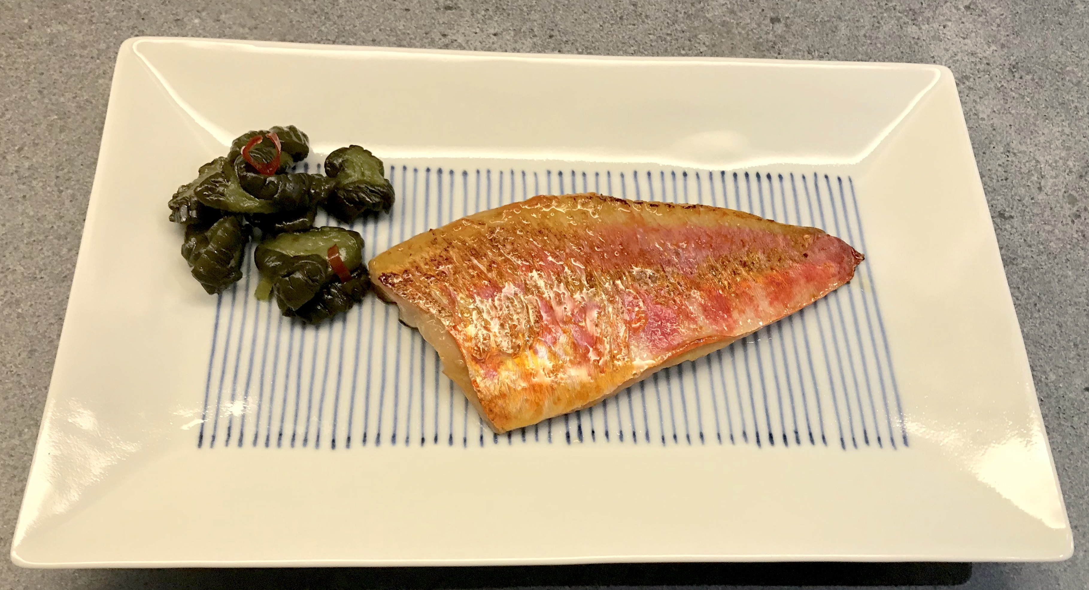 Red Mullet in Miso ©cadwu